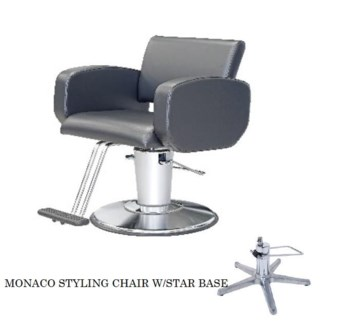 (18)TAKARA MONACO HYD STYLING CHAIR - T-TYPE FOOTREST