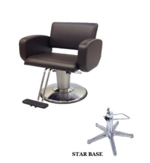 (18)TAKARA MONACO XL HYD STYLING CHAIR - T-TYPE FOOTREST