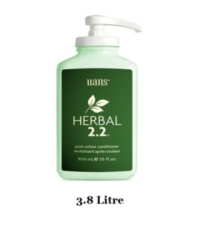 UANS HERBAL 2.2 POST-COLOR CONDITIONER 3.8L