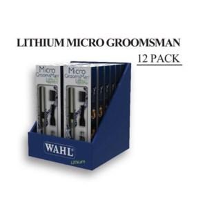 WAHL LITHIUM MICRO GROOMSMAN 12 PACK