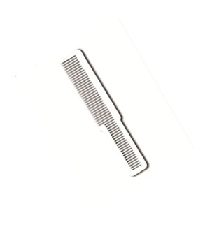 WAHL COLORED CLIPPER COMB - WHITE