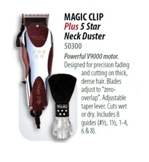 WAHL 5 STAR MAGIC CLIPPER W/ NECK DUSTER