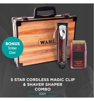WAHL 5 STAR CORDLESS LITHIUM MAGIC CLIPPER/SHAVER MA'20