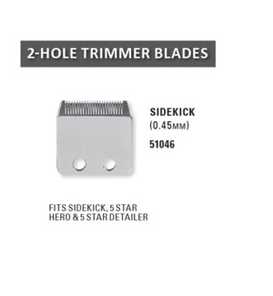 WAHL FINE TRIMMER BLADE SET