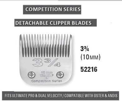 WAHL COMPETITION BLADE SIZE 3 3/4
