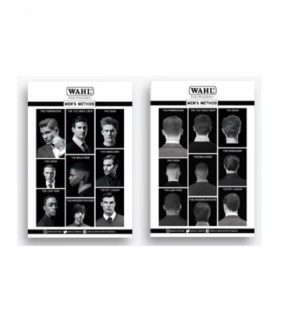 WAHL MEN'S METHOD POSTERS