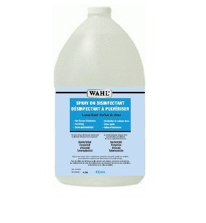WAHL SPRAY ON DISINFECTANT REFILL 4L