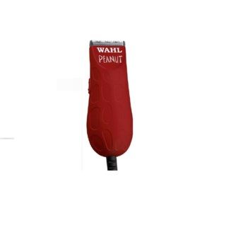 WAHL RED PEANUT TRIMMER  W/ 4 GUIDES
