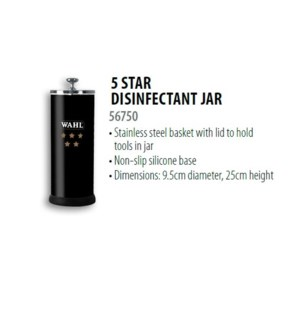 WAHL 5 STAR DISINFECTANT JAR