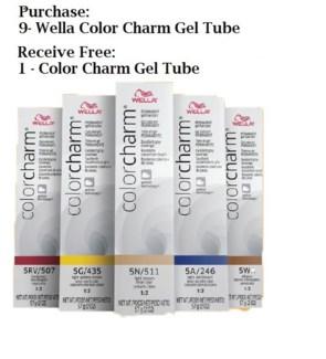 WE 9 + 1 WELLA COLOR CHARM GEL TUBE//MJ'19