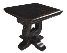 Milano Carved End Table