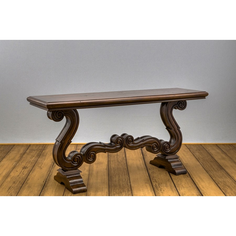Milano Carved Console Table