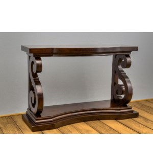 """S"" Leg Console Table"