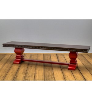 "84"" Needham Trestle Bench"