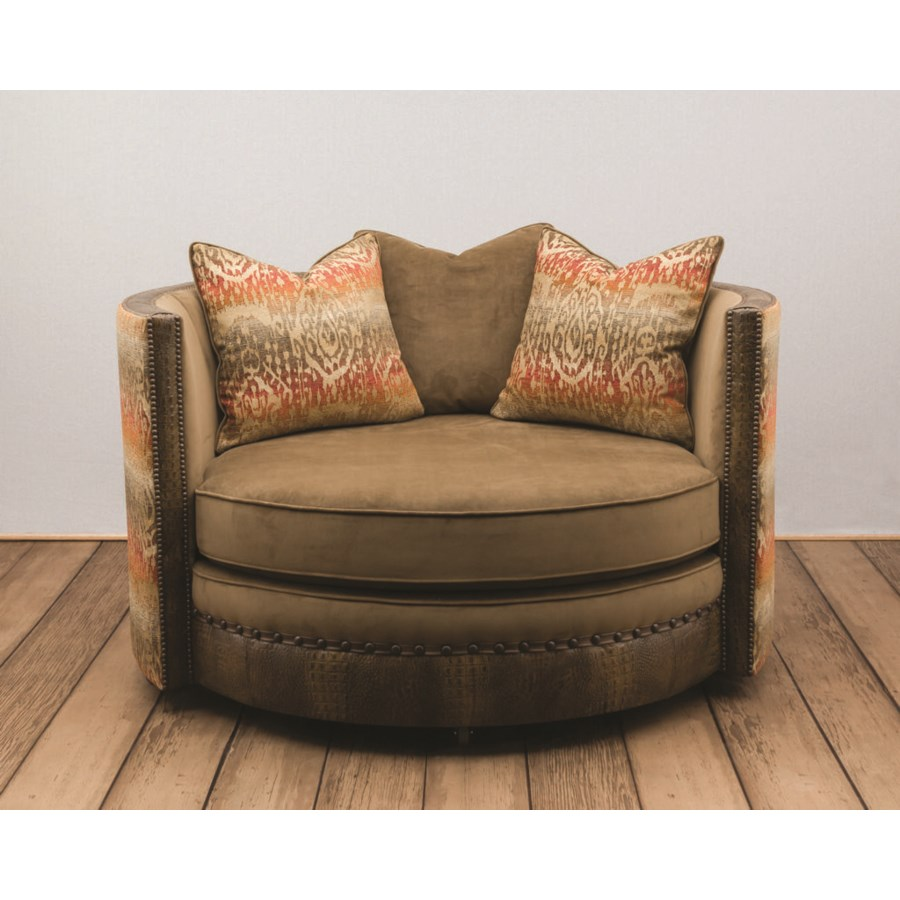 "42"" Manhattan Swivel Loveseat"
