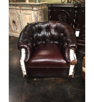Texarkana Club Chair w/ Swivel Base