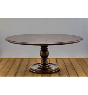 "72"" Round Spanish Dining Table"