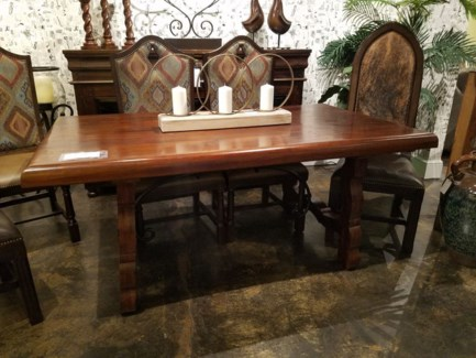"72"" Monk Dining Table"