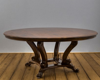 "72"" Round Crown Dining Table"