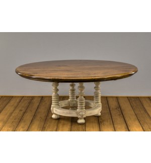 "72"" Round Melrose Dining Table"