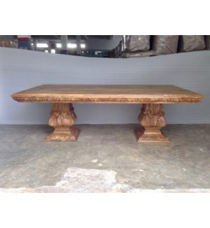 """Amer Carved Dining Table 96"""""""