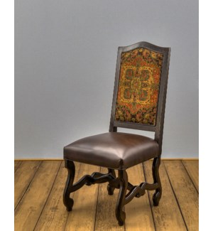 Crown Wood Framed Back Side Chair