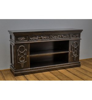 Napa Carved 2 Door Cabinet