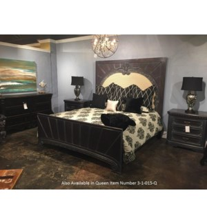 Crown Queen Bed