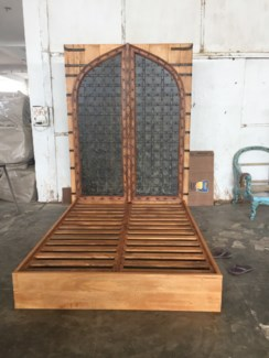 Indian Door Queen Bed