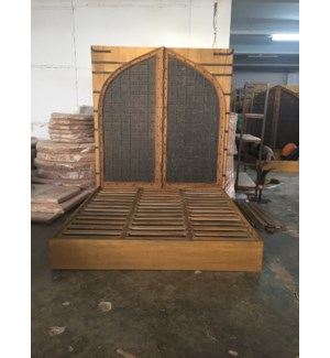 Indian Door King Bed