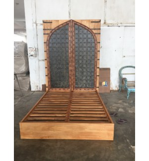 Indian Door Queen Bed