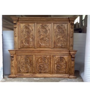 Amer Carved Bed-King