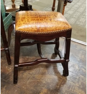 Crown Saddle Counter Stool