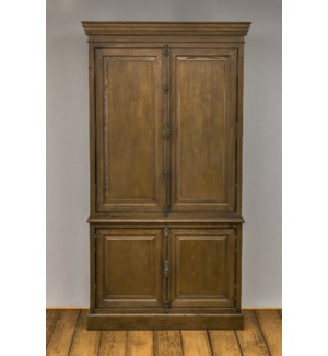 Hampton 4 Door Armoire