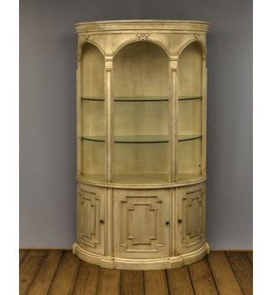 Calais 3 Door Display Cabinet