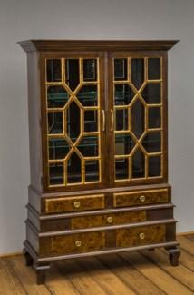 Monticello 2 Door Display Cabinet