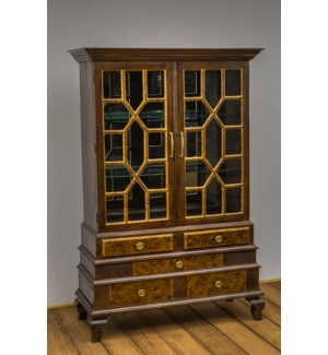 Monticello 2 Door Display Cabinet