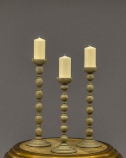 Barley Twist Candle Stand