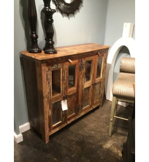 Reclaimed Wood 4 Door Buffet