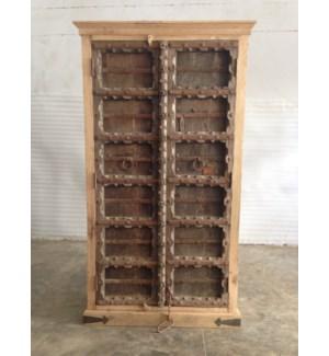 Reclaimed Wood Old Door Almirah 2 Door