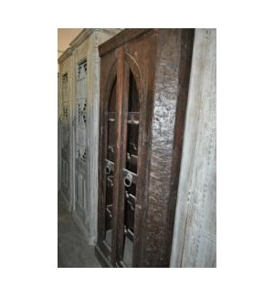 Reclaimed Wood Old Door Wine  Almirah