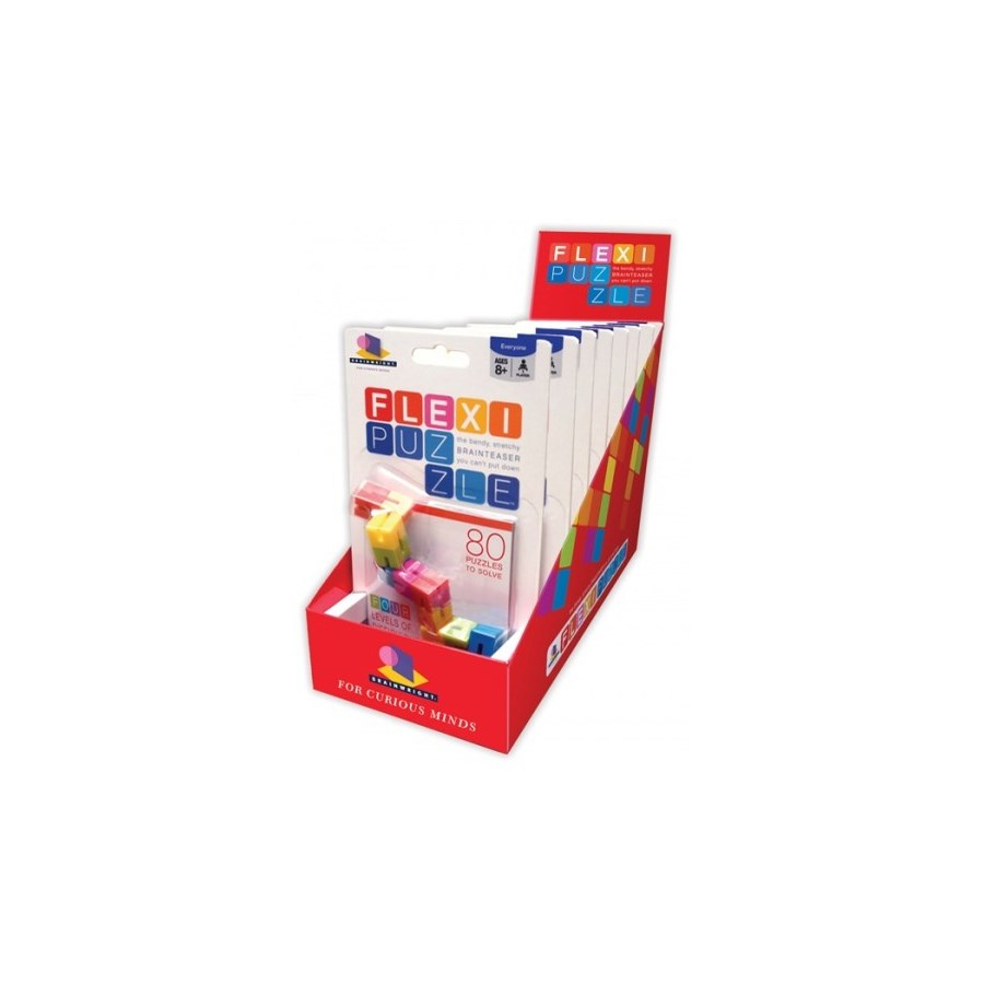 FLEXI PUZZLE W/DISPLAY (8) *SD*
