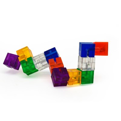 FLEXI PUZZLE CRYSTAL  W/DISPLAY (8)