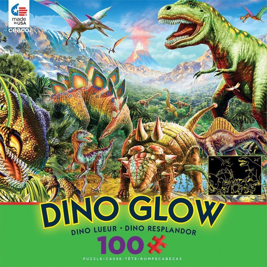 READY SET GLOW DINOSAURS 100PCS. (6)
