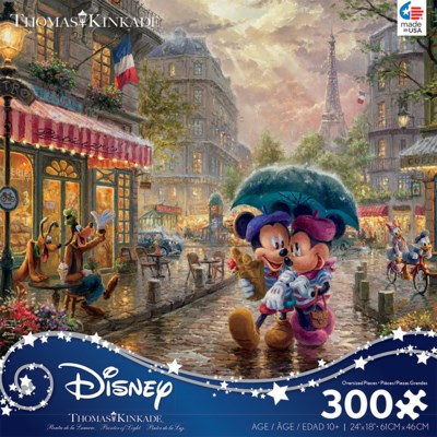 THOMAS KINKADE DISNEY PRINCESS 300 PCS. OVERSIZED (6)