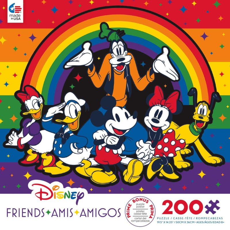 200PC DISNEY FRIENDS ASST (6)
