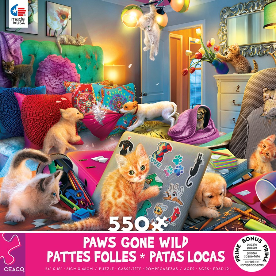 550PC PAWS GONE WILD ASST (6)