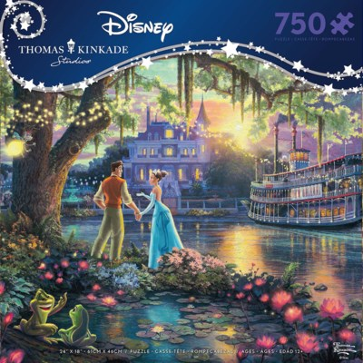 THOMAS KINKADE DISNEY DREAMS 750PCS. (6)