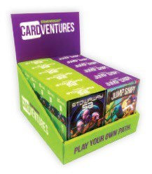 CARDVENTURES 1&2 w/display (12)