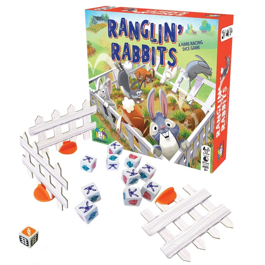 RANGLIN' RABBITS (6)